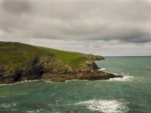 Visión costera de Cornualles foto de archivo libre de regalías