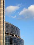 visión del asunto, edificio de oficinas de cristal, construcción Fotos de archivo libres de regalías