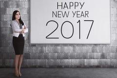 Visión del negocio en 2017 Imagenes de archivo