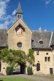 Visión dentro de la abadía de Orval Imágenes de archivo libres de regalías