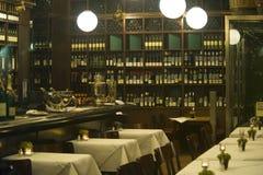 visión dentro del restaurante Fotografía de archivo libre de regalías