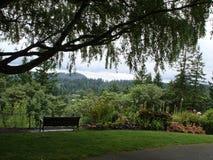 Visión desde él al oeste colinas a Portland O Imagen de archivo libre de regalías