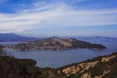 Visión desde Angel Island California Imagen de archivo