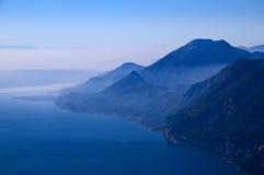 Visión desde arriba de Monta Baldo Imágenes de archivo libres de regalías