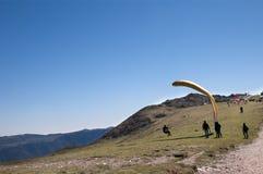Visión desde arriba de Monte Baldo Imagen de archivo