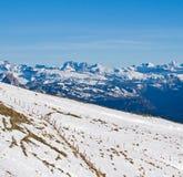 Visión desde arriba de Mt. Rigi, Suiza Imagenes de archivo