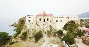 Visión desde arriba del monasterio metrajes