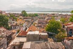 Visión desde Balcon de Velázquez al puerto Imagen de archivo