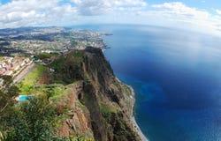 Visión desde Cabo Girao Imágenes de archivo libres de regalías