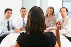 Visión desde como CEO Addresses Meeting
