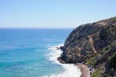 Visión desde Duma Point, Malibu California Fotografía de archivo libre de regalías