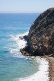 Visión desde Duma Point, Malibu California Foto de archivo libre de regalías