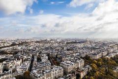Visión desde Eiffel Fotos de archivo