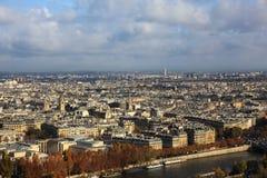 Visión desde Eiffel Imágenes de archivo libres de regalías