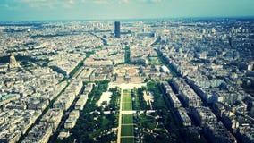 Visión desde Eiffel Fotografía de archivo