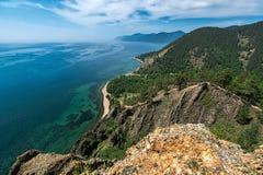 Visión desde el acantilado-top Skriper Fotos de archivo libres de regalías