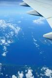 Visión desde el aeroplano imagenes de archivo