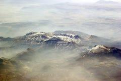 Visión desde el avión Fotografía de archivo