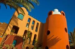 Visión desde el centro turístico EL-Gouna Foto de archivo libre de regalías