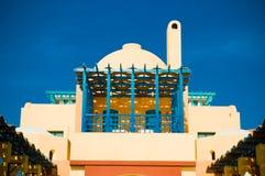 Visión desde el centro turístico EL-Gouna Imagen de archivo libre de regalías