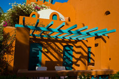 Visión desde el centro turístico EL-Gouna Fotografía de archivo