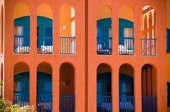 Visión desde el centro turístico EL-Gouna Imágenes de archivo libres de regalías