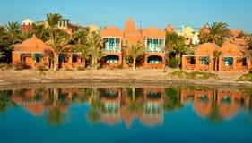 Visión desde el centro turístico EL-Gouna Fotos de archivo