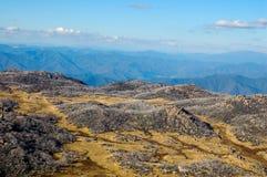 Visión desde el cuerno - búfalo del Mt Imagenes de archivo