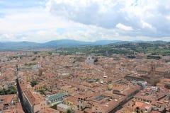 Visión desde el duomo de Florencia Imagen de archivo libre de regalías
