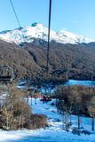 Visión desde el echador de Cerro Imagen de archivo