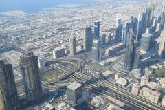 Visión desde el edificio más alto del mundo Imagenes de archivo