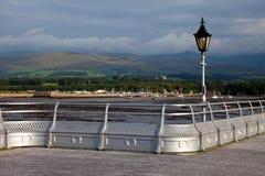 Visión desde el embarcadero de Bangor Imagen de archivo libre de regalías