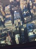 Visión desde el Empire State Foto de archivo libre de regalías