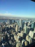 Visión desde el Empire State Imagen de archivo