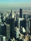 Visión desde el Empire State Fotos de archivo libres de regalías