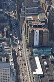 Visión desde el Empire State Building en Nueva York Fotos de archivo libres de regalías