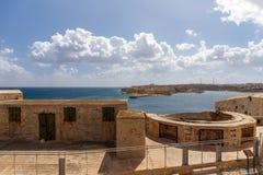 Visión desde el fuerte St Elmo Fotos de archivo libres de regalías