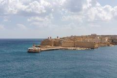 Visión desde el fuerte St Elmo Fotografía de archivo