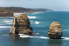 Visión desde el gran camino del océano Imagen de archivo libre de regalías