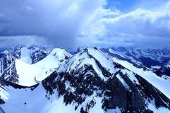 Visión desde el helicóptero. Imagenes de archivo