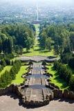 Visión desde el Herkules en Kassel Foto de archivo libre de regalías