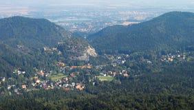 Visión desde el Hochwald Foto de archivo