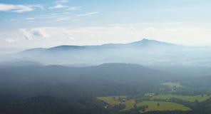 Visión desde el Hochwald Foto de archivo libre de regalías