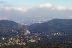 Visión desde el Hochwald Imagenes de archivo