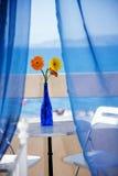 Visión desde el hotelroom Imagen de archivo libre de regalías