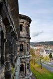 Visión desde el Nigra de Porta en el Trier en otoño, Alemania Fotografía de archivo