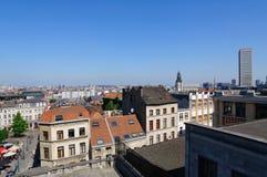 Visión desde el Palais de Justice en Bruselas, Bélgica Imágenes de archivo libres de regalías