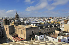 Sevilla del parasol de Espacio Metropol, La cuadrado Encarnación Imagenes de archivo
