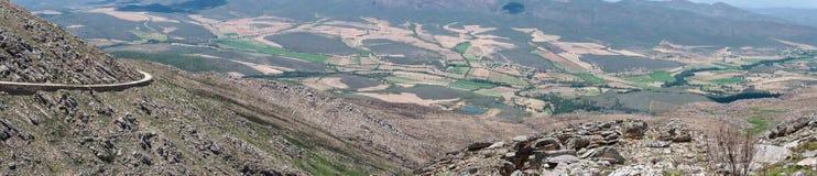 Visión desde el paso de Swartberg al este Imagen de archivo
