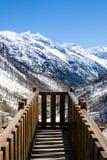 Visión desde el puente Foto de archivo